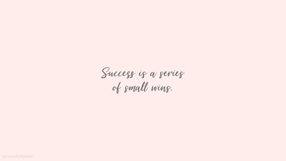Success Is A Series Desktop In 2020 Cute Desktop Wallpaper Aesthetic Desktop Wallpaper Inspirational Desktop Wallpaper