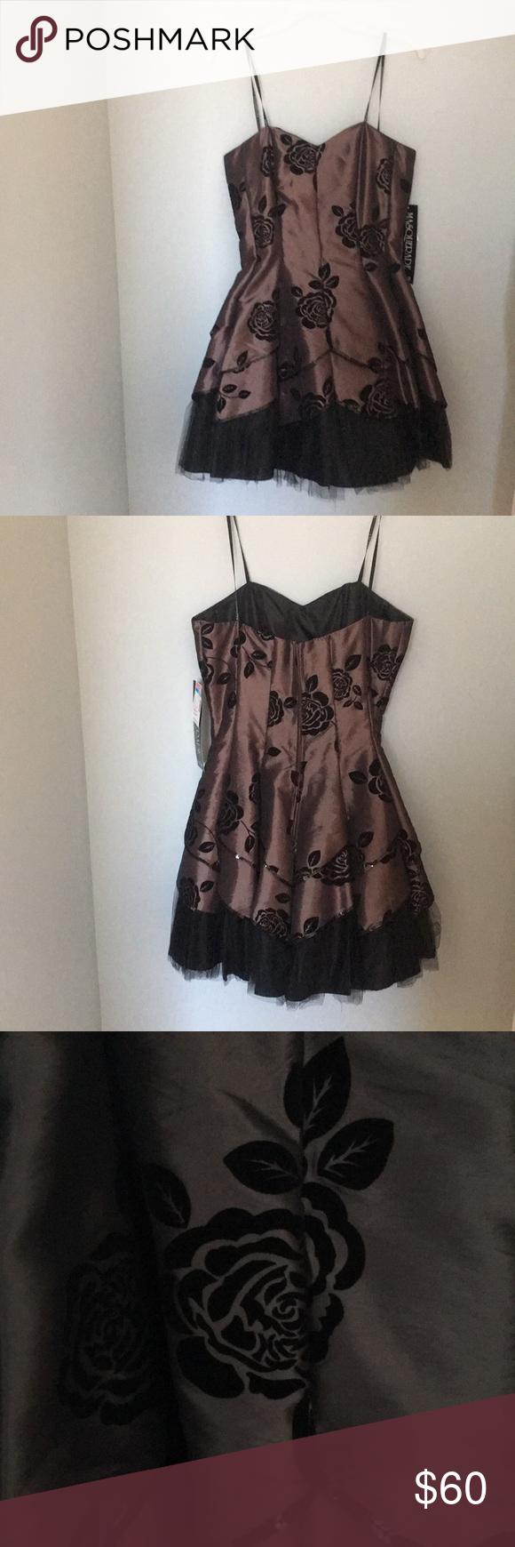 Formal short strapless homecomingprom dress nwt formal