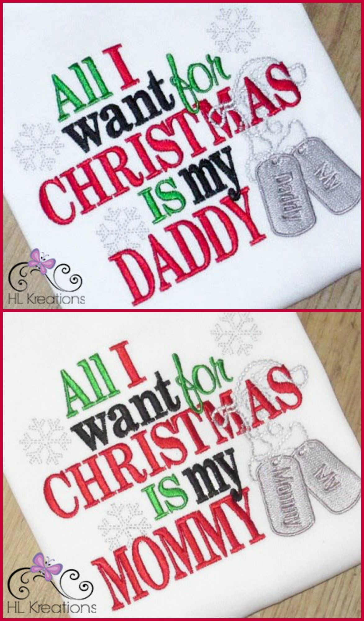 All I Want For Christmas Is My Daddy Mommy Military Deployment Christmas Shirt For Girls And Boys Military Care Package Military Christmas Christmas Shirts