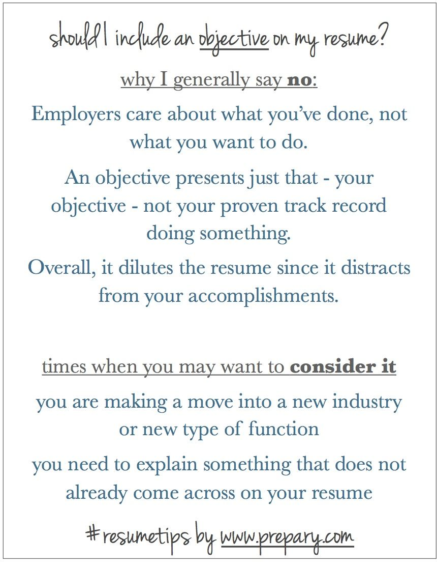 What To Put On Your Resume Why I Dont Think You Need