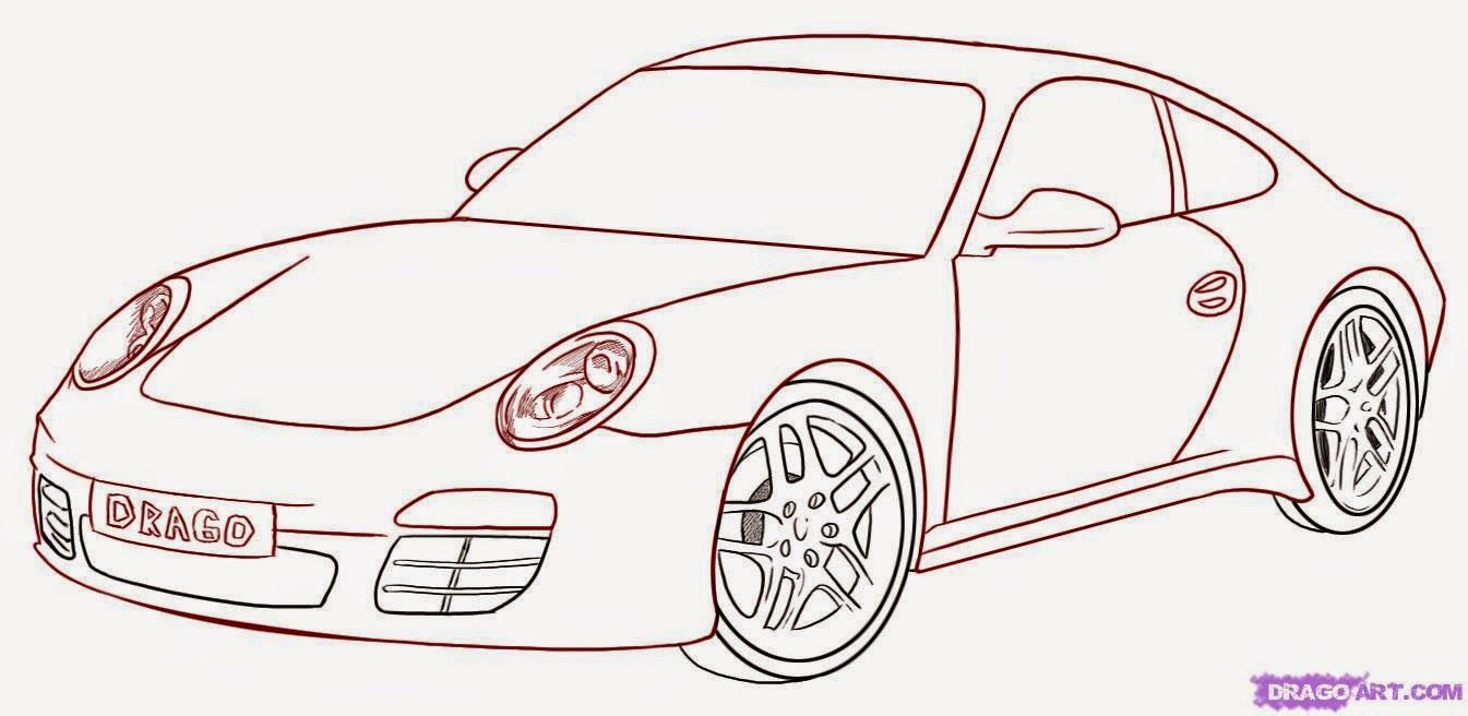 Draw a Car | Art Meaning | Trans Design Sketching & Rendering ...