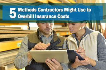 5 Methods Contractors Might Use to Overbill Insurance