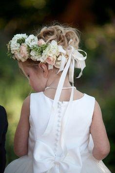 INSPIRAÇÃO - Daminhas e coroas de flores.