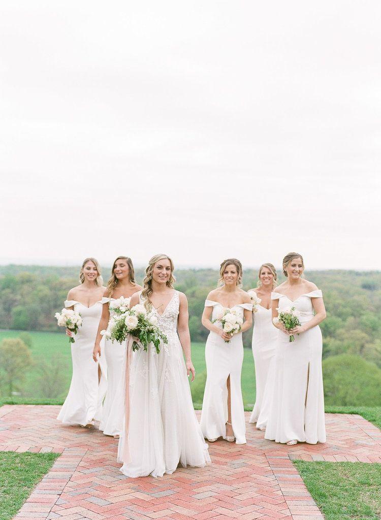 Natirar Mansion Wedding | Bridesmaid Dresses