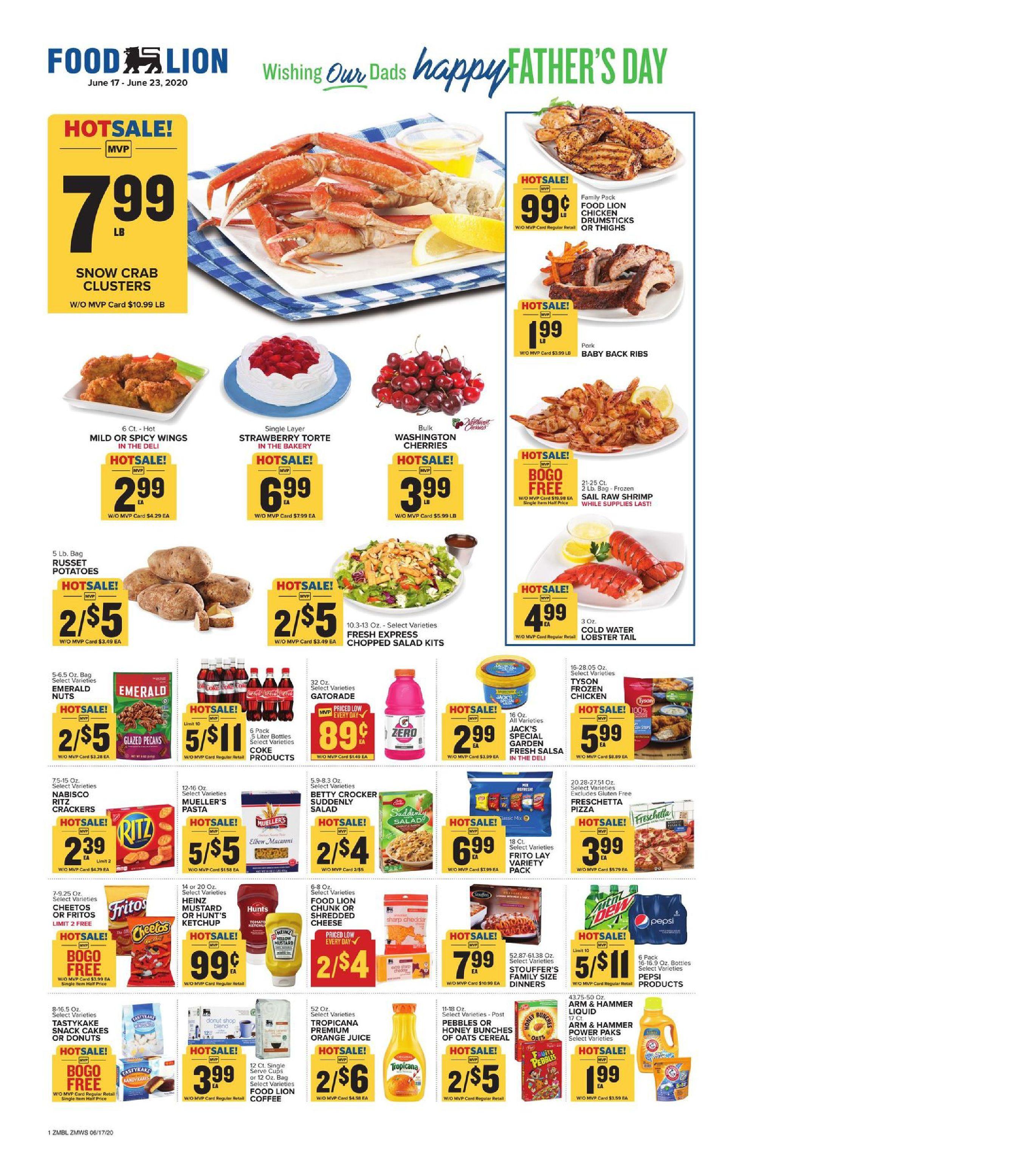 Food lion weekly ad jun 17 jun 23 2020 sneak peek