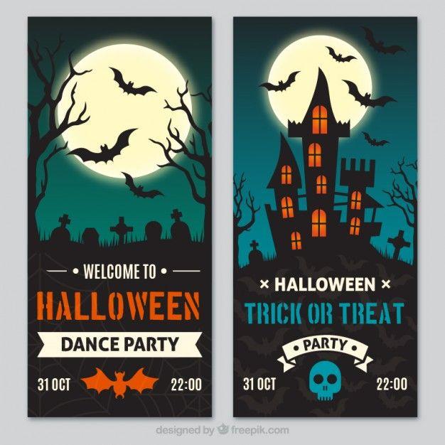Baixe Bandeiras De Halloween Embalar Gratuitamente Halloween Coloring Halloween Halloween Banner