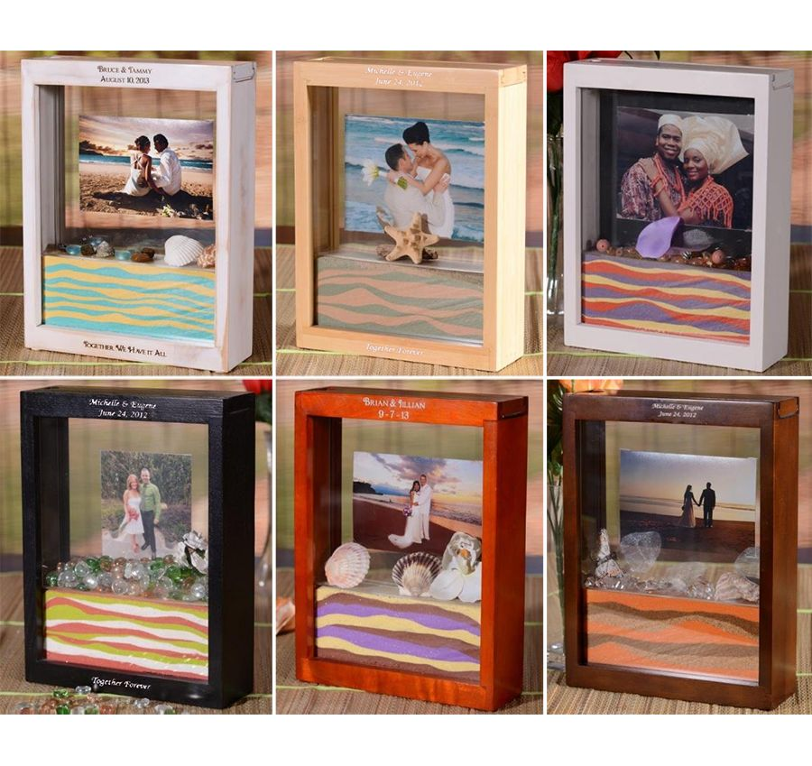 Personalized Sand Picture Framette Kit | Personalized Sand Photo ...