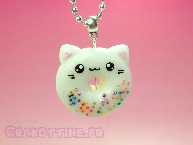 Collier Donut Kawaii