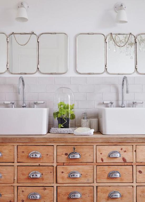 Pin di Martina Cima su ♡ Bathroom! | Arredo bagno vintage ...
