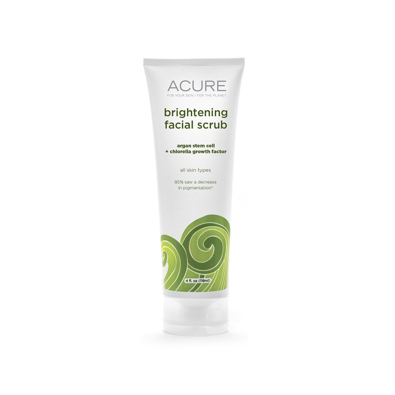 Acure's Brightening Facial Scrub Is Safe For Sensitive