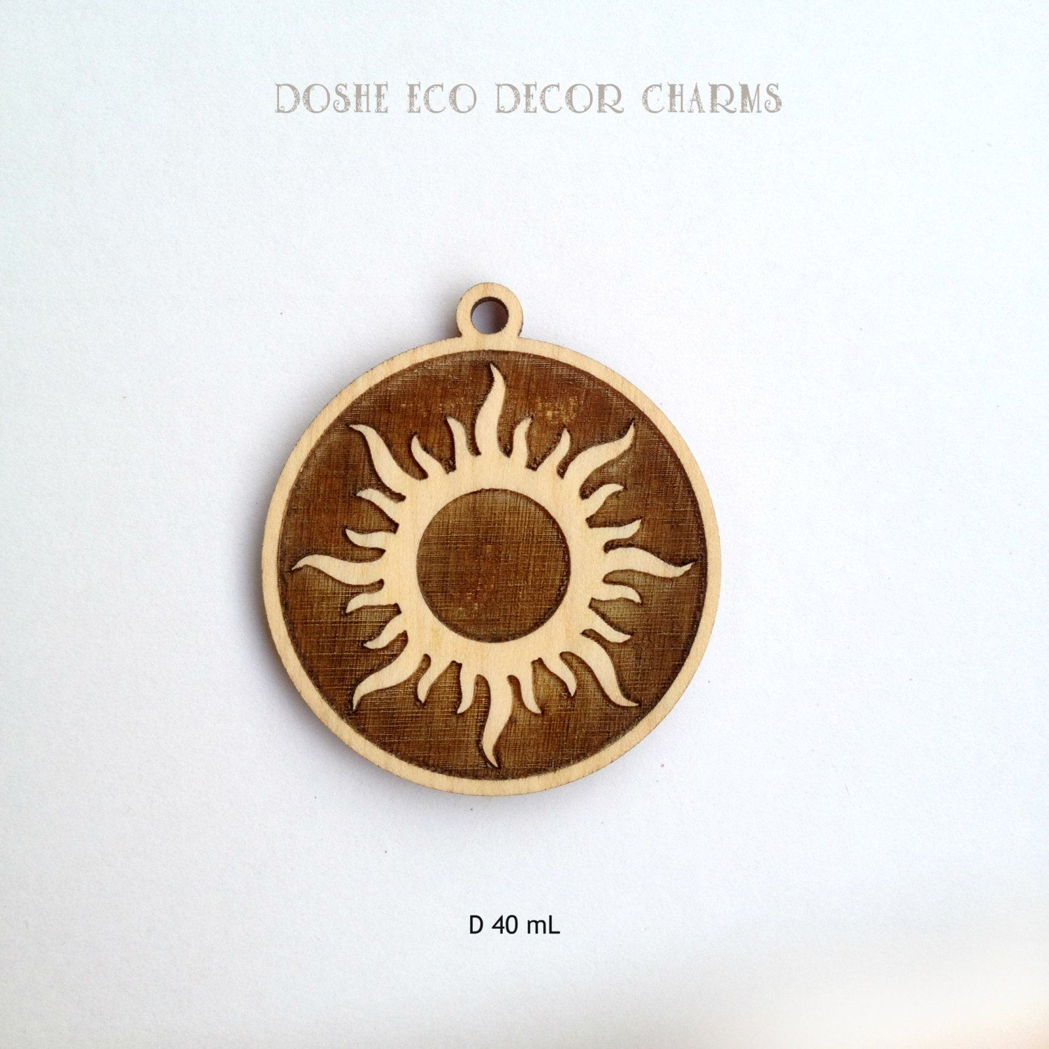 Bright laser cut sun wood pendant for your sunny you laser cut bright laser cut sun wood pendant for your sunny you laser cut wood jewelry mozeypictures Images