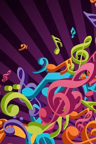 Music Notes Iphone Wallpaper Background And Theme Music