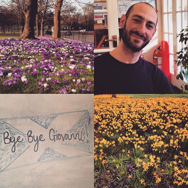 Spring has finally sprung and Edinburgh is looking lovely! Sadly today the Caledonian Language School is saying goodbye to Giovanni who has been with us since July. Good luck and stay in touch! #edimbourg #edimburgo #edinburgh #edinphoto #scotland #caledonianlanguageschool #spring #flowers #goodbye #goodluck #stayintouch #learningisfun #learnenglish #englishclass #almosteaster