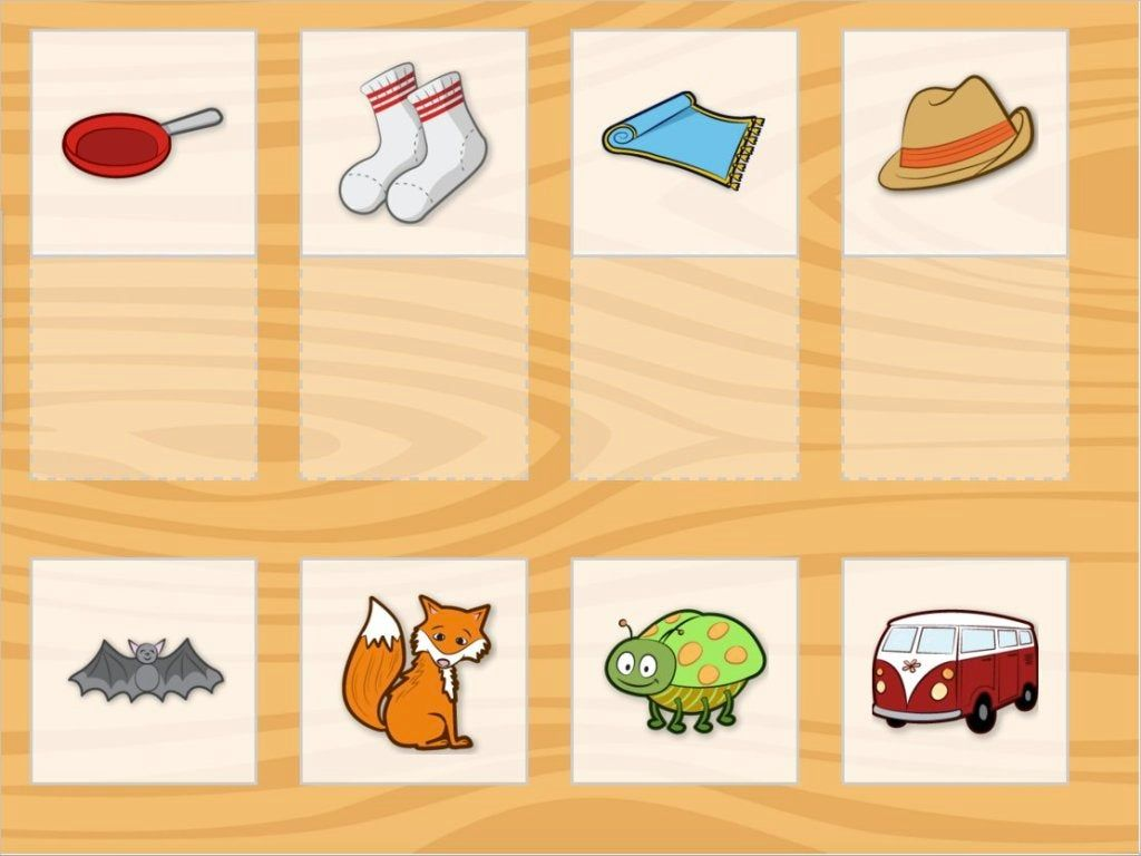 Match The Rhyming Words In This Phonological Awareness