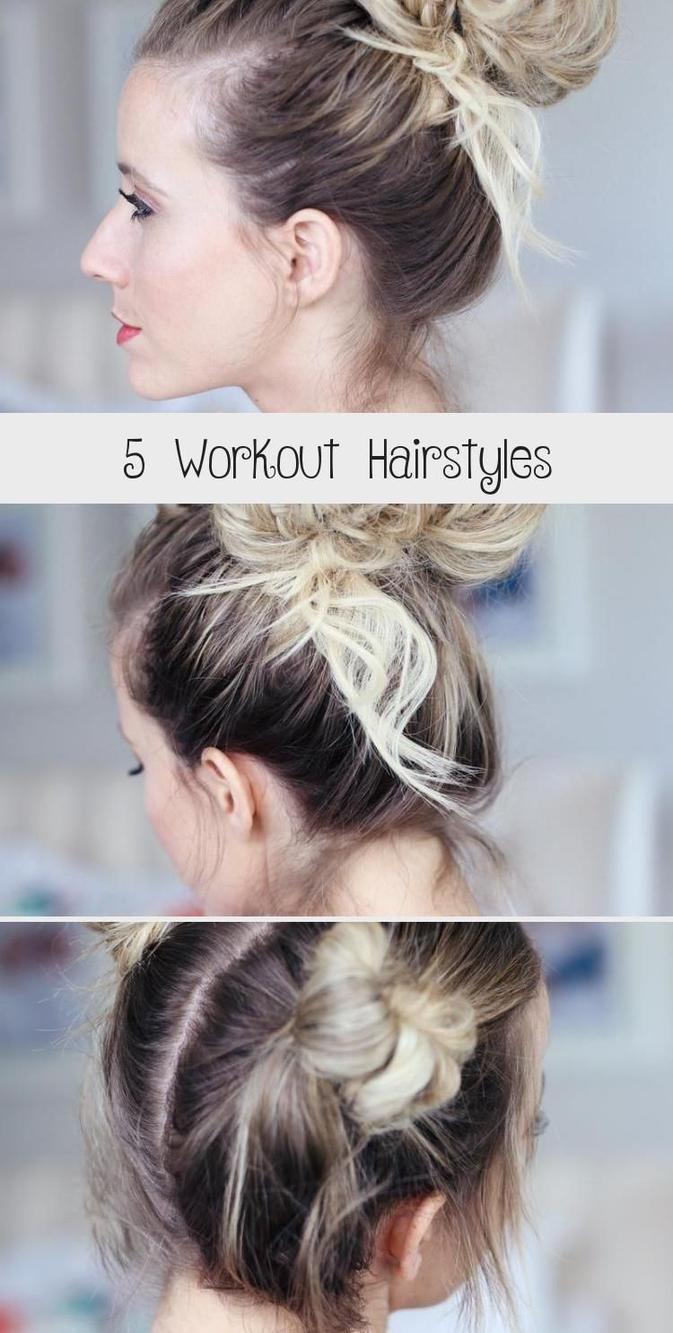 I Love This Quick Easy Hair Style When I M Working Out Try It The Next Time You Easy In 2020 Easy Hairstyles Easy Hairstyles Quick Hair Styles