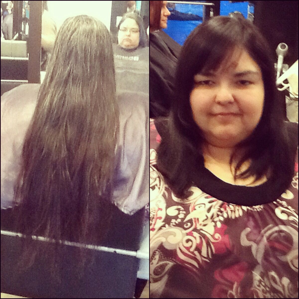 Before And After Locks Of Love Donation She Got A New Style A New Color Locks Of Love Donation Long Hair Styles Hair Styles