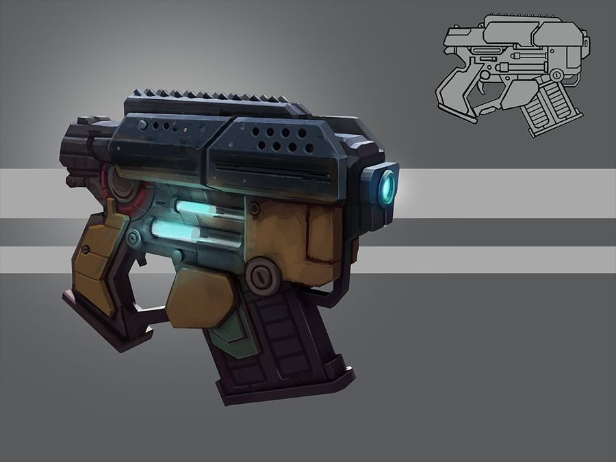 Cool Futuristic Weapon Designs | ARMORY | Pinterest ...