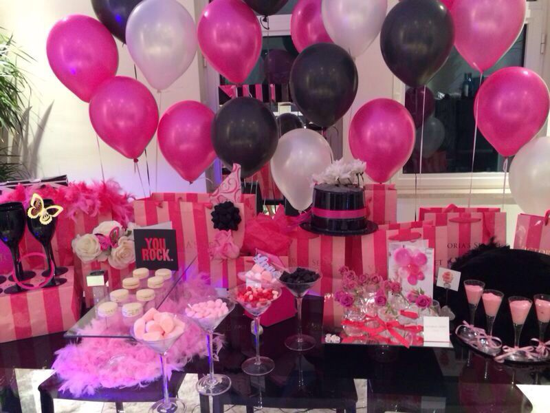 Victoria Secret Theme Party So In Love Pink Party Theme Pink Party Decorations 16th Birthday Party