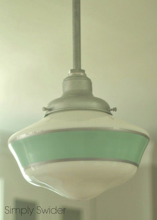 schoolhouse lights bring vintage industrial style to kitchen blog