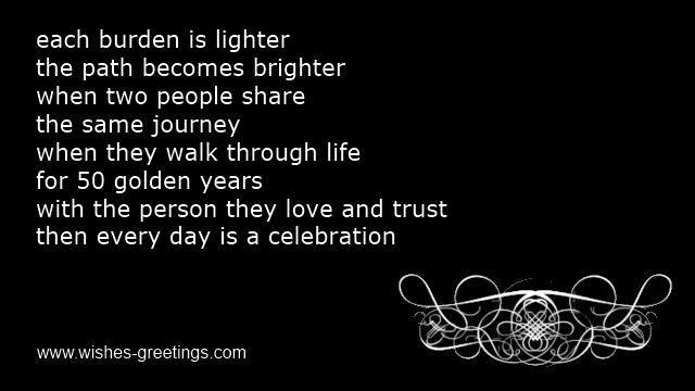 Golden 50th Wedding Anniversary Poems Parents From Children 50th Anniversary Quotes Wedding Anniversary Poems Anniversary Poems