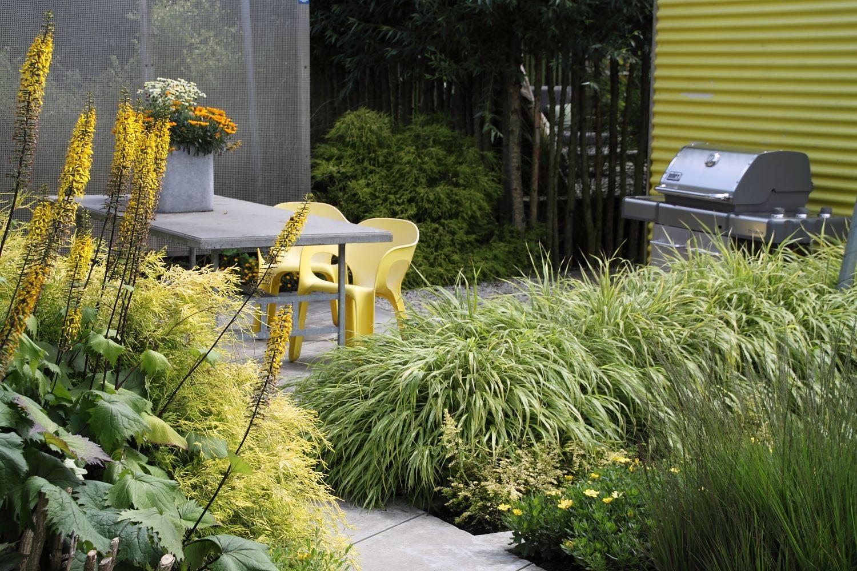 Yellow Garden In The Gardens Of Appeltern Www Appeltern Nl En Gele Tuin In De Tuinen Van Appeltern Www Appeltern Nl Tuin Tuin Ideeen Moderne Tuin