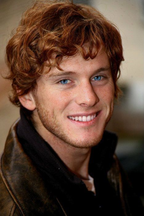 Alun Red Curly Short Hair Like This Ginger Men Red Hair