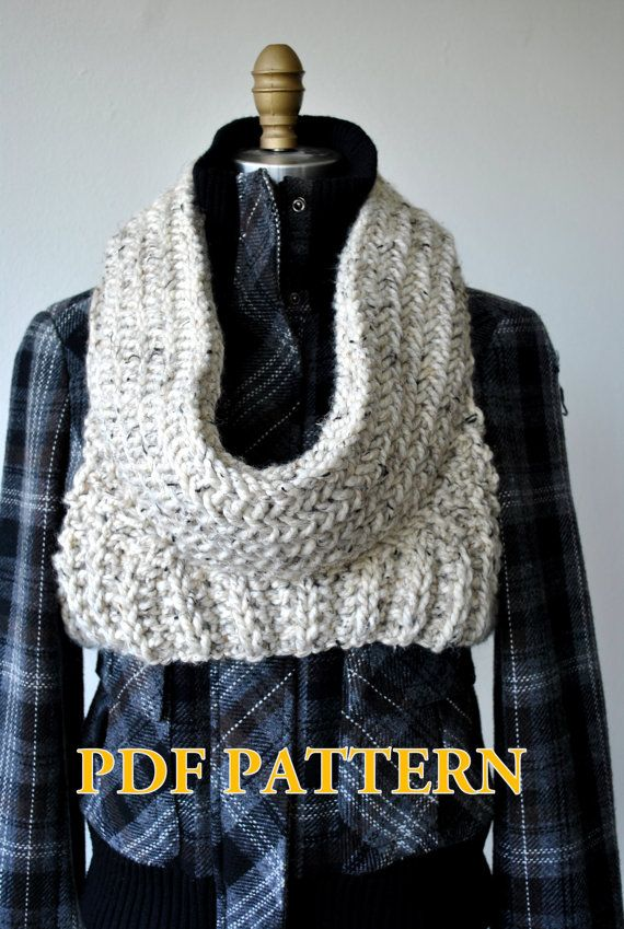 PDF Knitting Pattern:Huntress District Armor Cowl- Capitol Hoodie ...