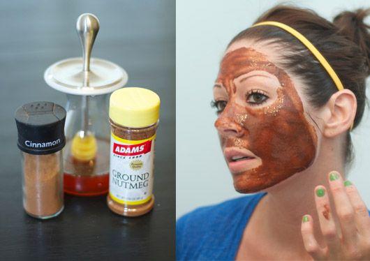 Sugar facial mask