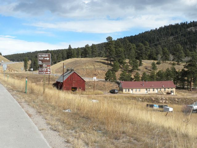 Was the Bradford Junction Community in late 1800s. Now US 285 passes through same place. Near town of Conifer, Colorado.