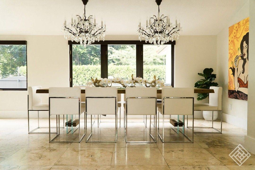 Beautiful Dining Rooms and Beautiful Travertine 24x24
