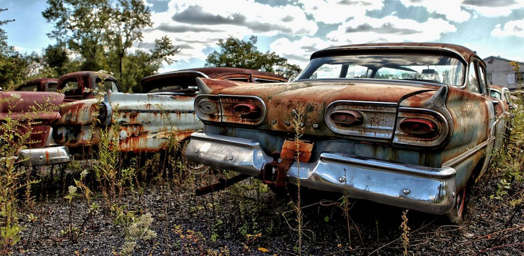 Old, Rusty Classic Cars and Trucks 007