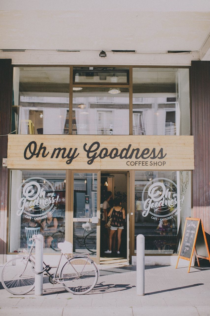 oh my goodness coffee shop in Strasbourg city travel