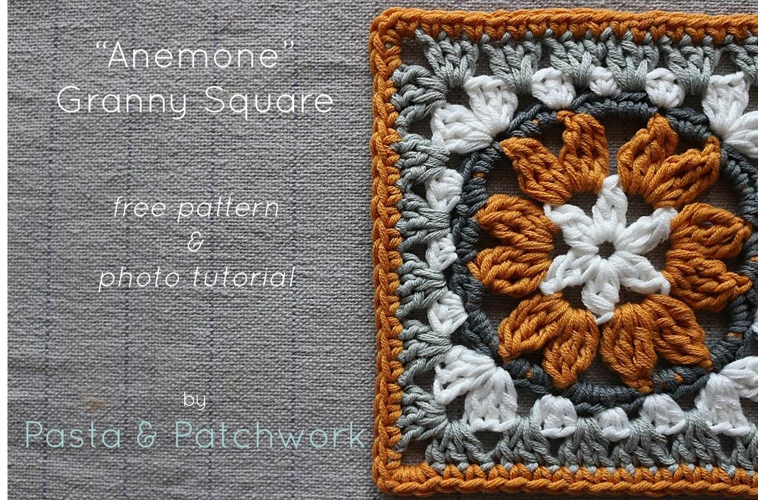 Anemone granny square free pattern tutorial pasta anemone granny square free pattern tutorial pasta patchwork home bankloansurffo Image collections