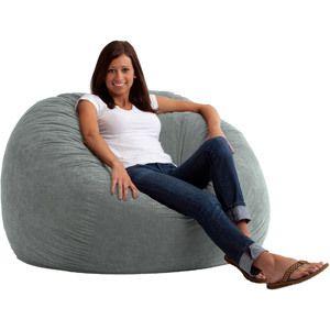 Fine Details About Big Joe Large Fuf Foam Filled Bean Bag Chair Unemploymentrelief Wooden Chair Designs For Living Room Unemploymentrelieforg