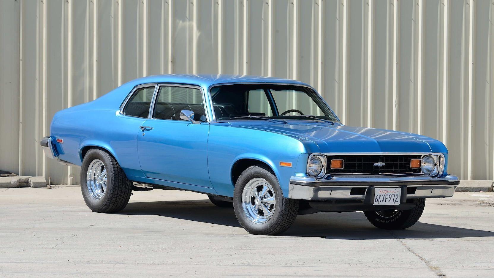 1974 Chevrolet Nova Presented As Lot T102 At Las Vegas Nv