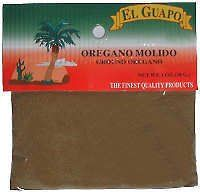 Traditional El Guapo Ground Oregano - Mexican Spice, 1 Oz