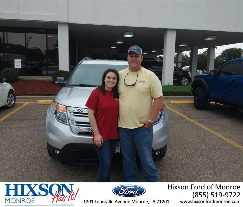 https://flic.kr/p/vMrMWj | #HappyAnniversary to Brian Young on your 2015 #Ford #Explorer from Scott Turner at Hixson Ford of Monroe! | www.hixsonfordmonroe.com/?utm_source=Flickr&utm_mediu...