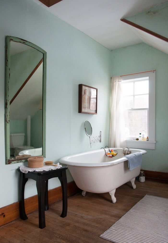 Design Sponge Bathrooms Fair Two Artists Find Home In A Charmfilled 1900 Farmhouse  Design Design Ideas