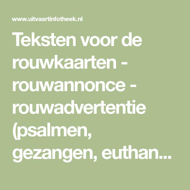 Citaten Over Euthanasie : Teksten voor de rouwkaarten rouwannonce
