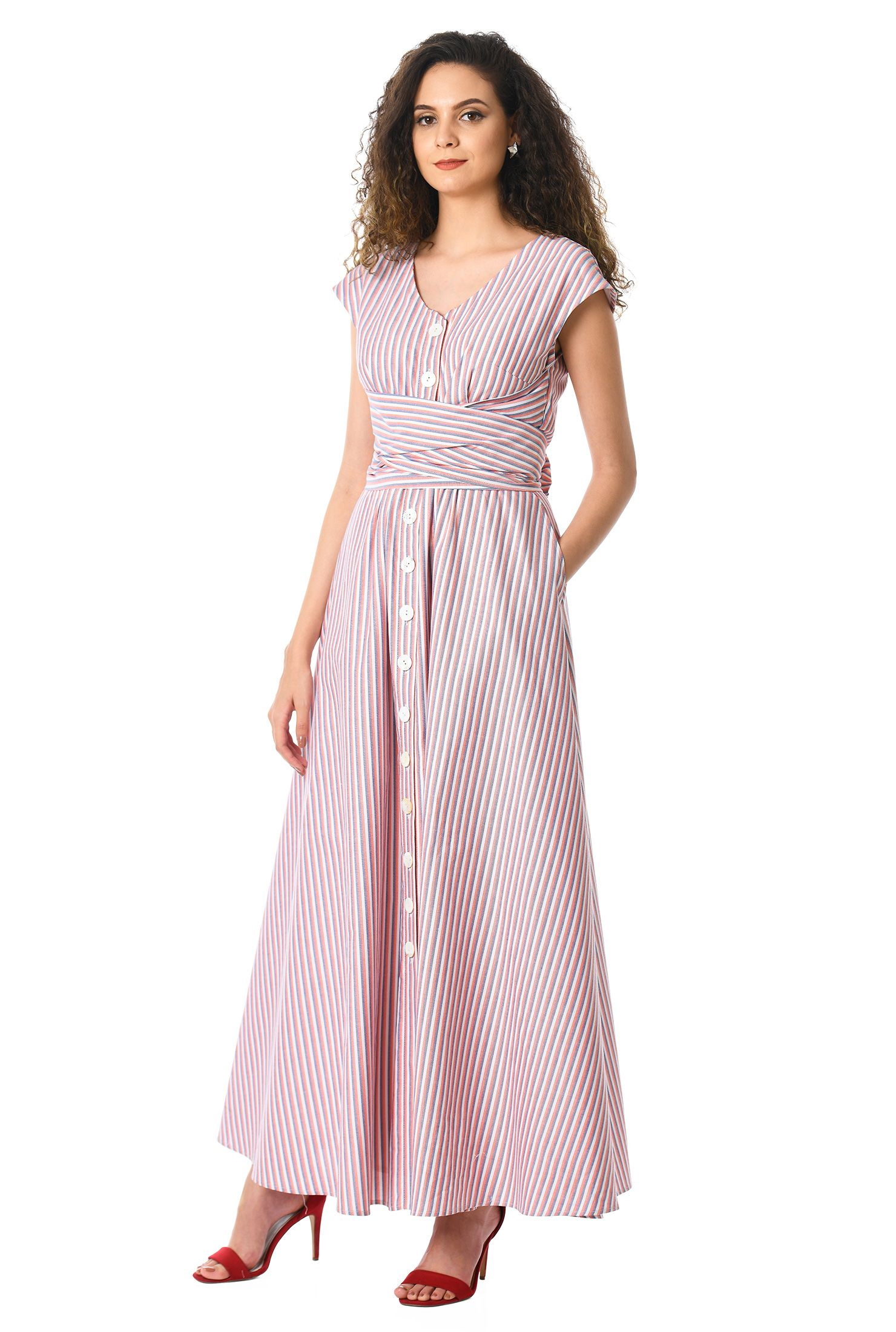 Sleeveless U Neck Loose Sundress In 2021 Casual Dresses For Women Solid Color Maxi Dresses Casual Dress [ 1000 x 1000 Pixel ]