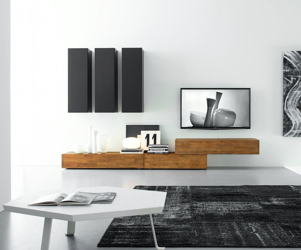 Modern Tv Wall Made Of Sustainable Solid Wood On Behance Mobilya Tasarimi Ic Mekan Fikirleri Oturma Odasi Dekorasyonu