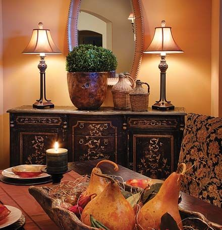 Tuscany Home Decorating Accessories   Bing Images