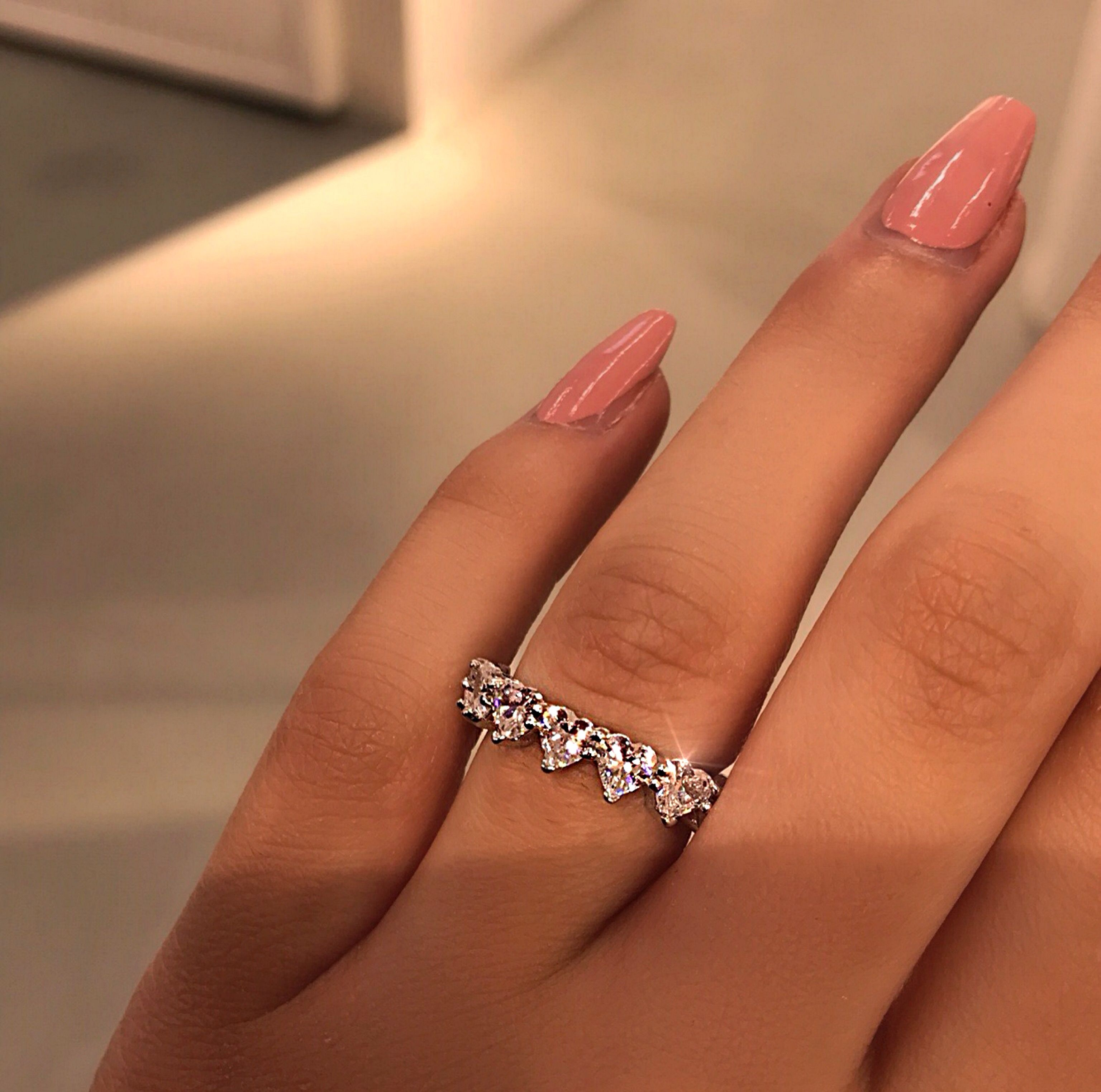 287e329421 Queen of Hearts Eternity Band in 2019 | A want, a need, a must ...