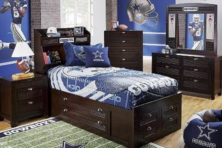Dallas Cowboys Themed Bedroom Kids Ideas On Decked Out In Cowboy Gear