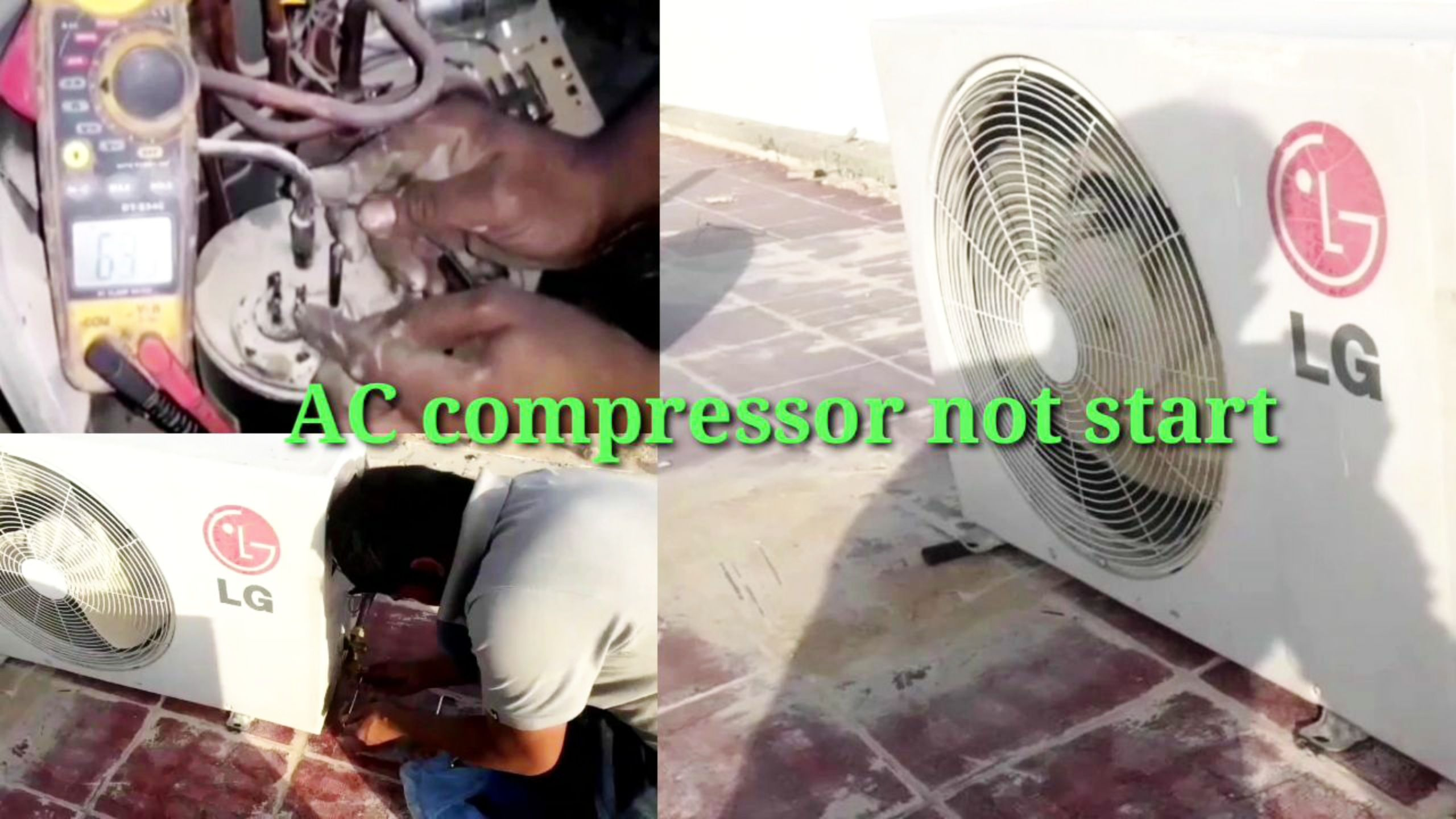 air conditoiner not cooling enough, fan kicks on but