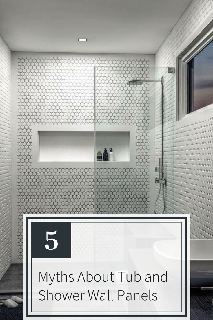 5 Myths About Tub And Shower Wall Panels With Images Shower