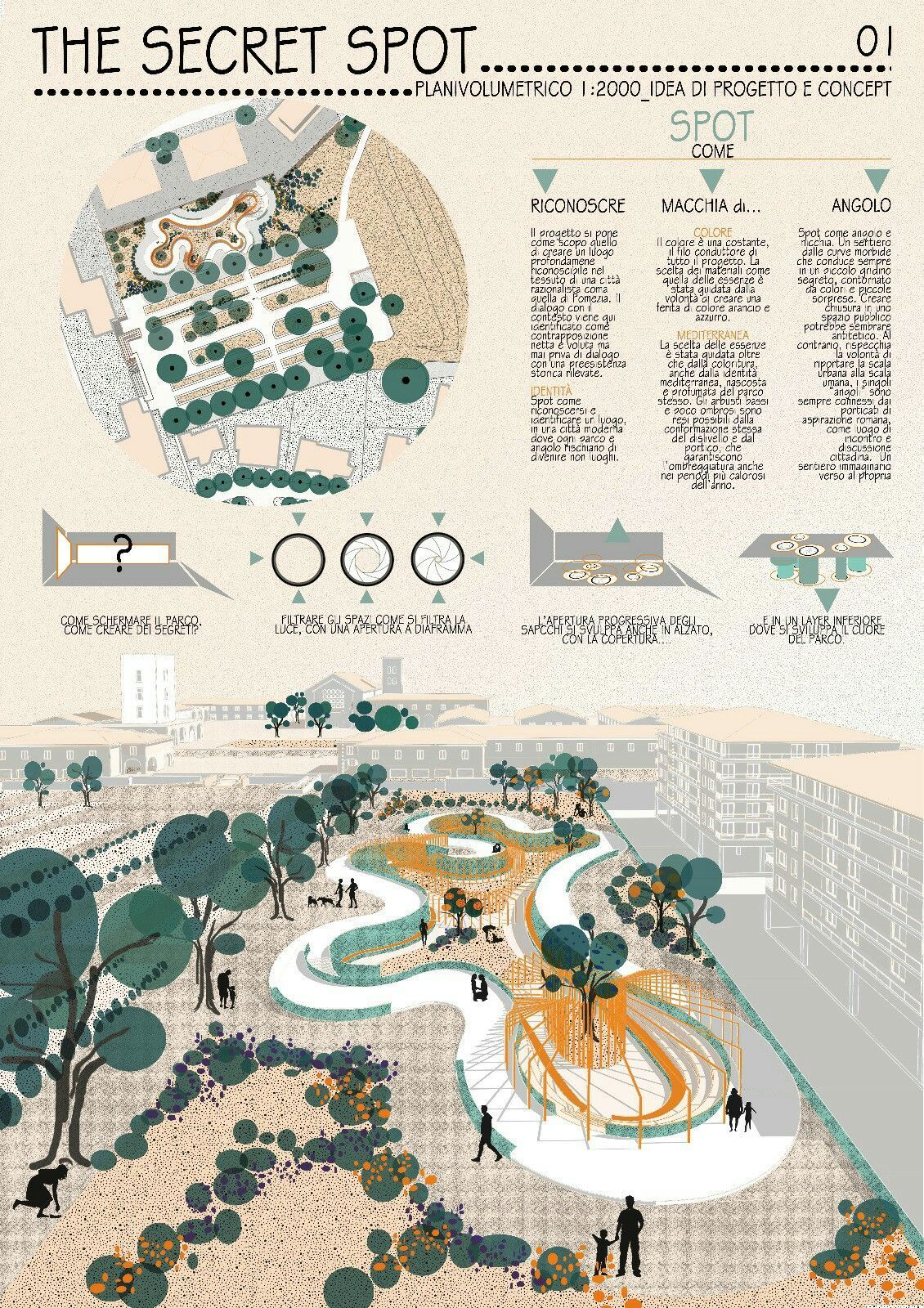Landscape Architecture Garden Design Public Square Competition For A In The Main Of Pomezia Italy Landscapearchitectureplan