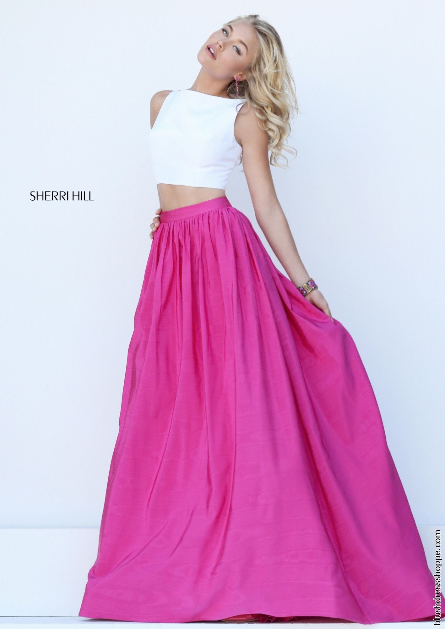 Rock this fun Sherri Hill dress 50459 to your senior prom and be the ...