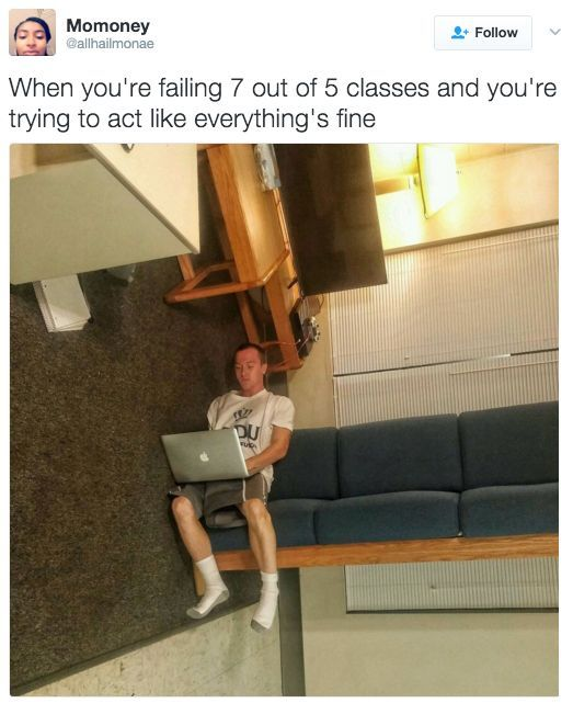 Friend How Are Things Me Things Are Good Narrator Things Were Not Good Life Funny Humor Memes Lol Funny Memes College Memes Funny Relatable Memes