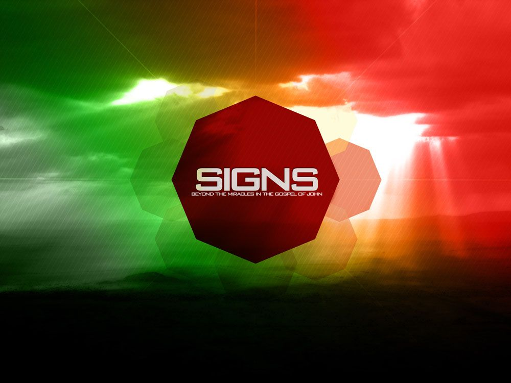 Signs: a letter from John